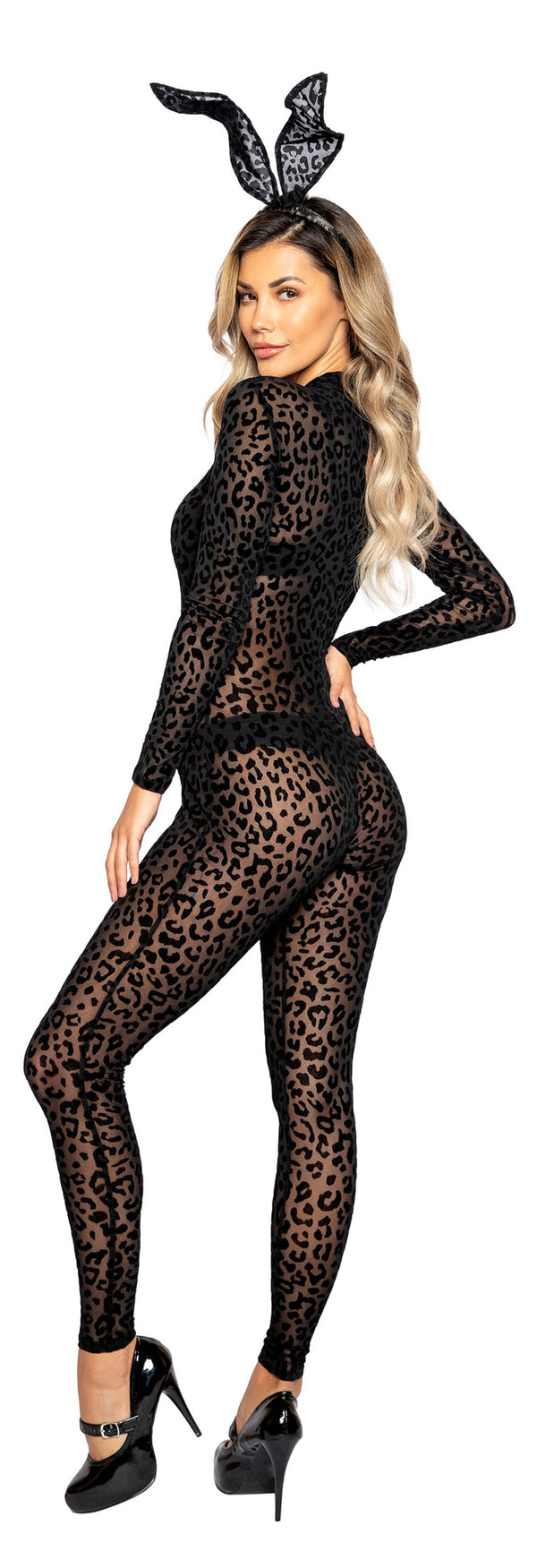 2pc Exotic Crossbreed Leopard Bunny Bodysuit