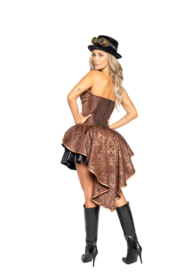 4pc Sexy Steampunk Costume