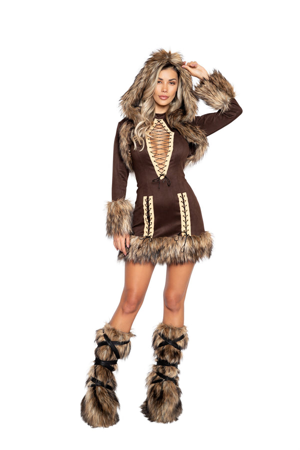 2pc Chilled Eskimo Costume