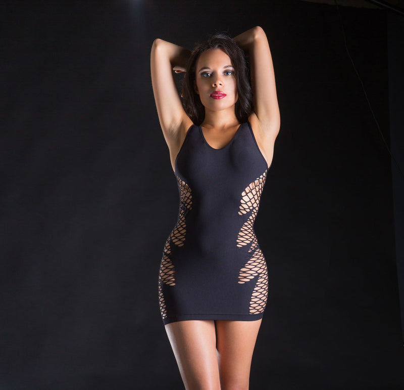 Spaghetti Strap Exotic Mini Dress
