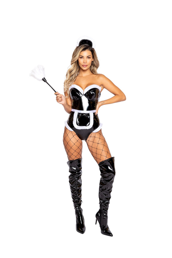 4pc Kinky Maid Costume