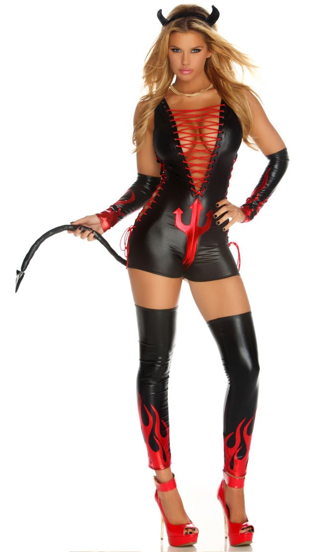 Dark Fantasy Costume Black Front FP553451