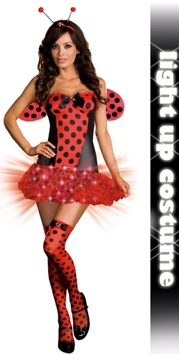 Light me up Lady Bug  Front DG6406