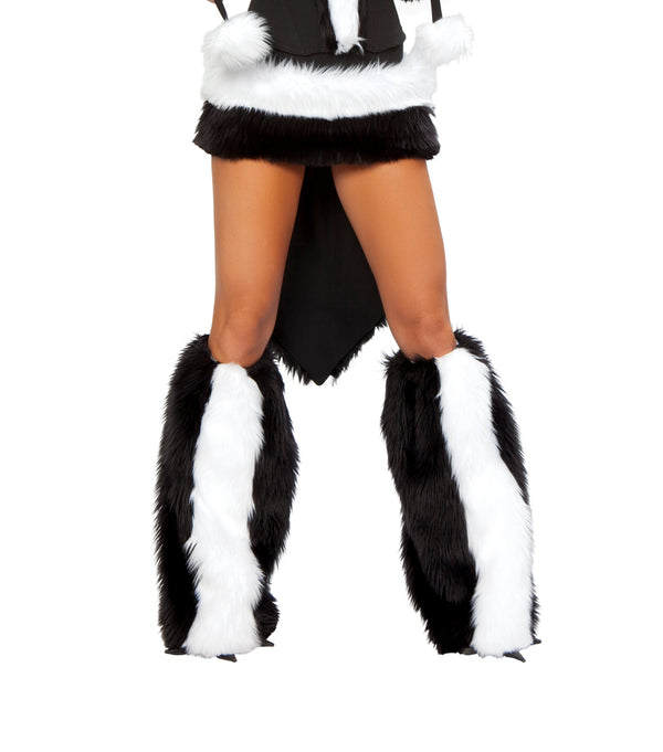 Sexy Skunk Leg Warmers Front JV80085