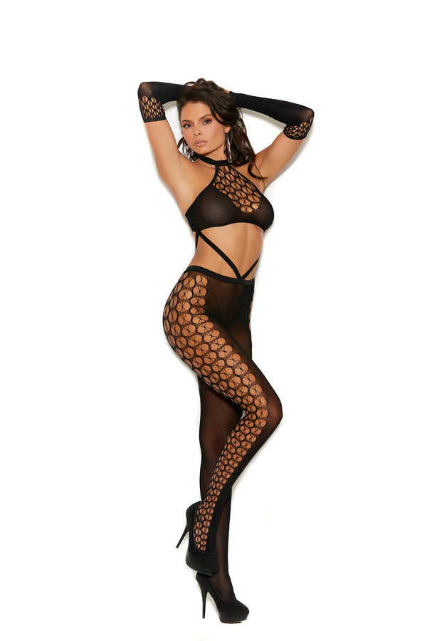 Crochet Bodystocking with Gloves