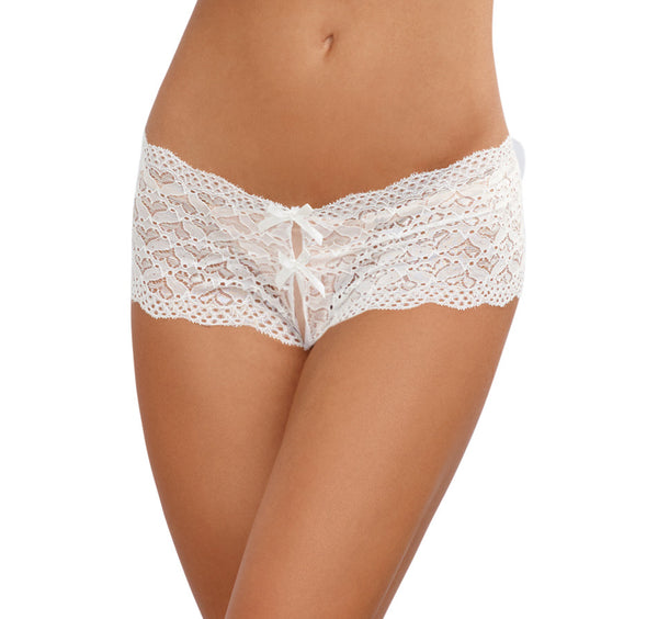 Lace Panty with Heart Back Cutout
