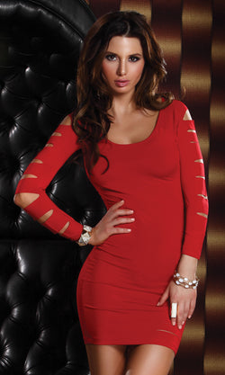 Vicious Mini Dress Red Front FP882513