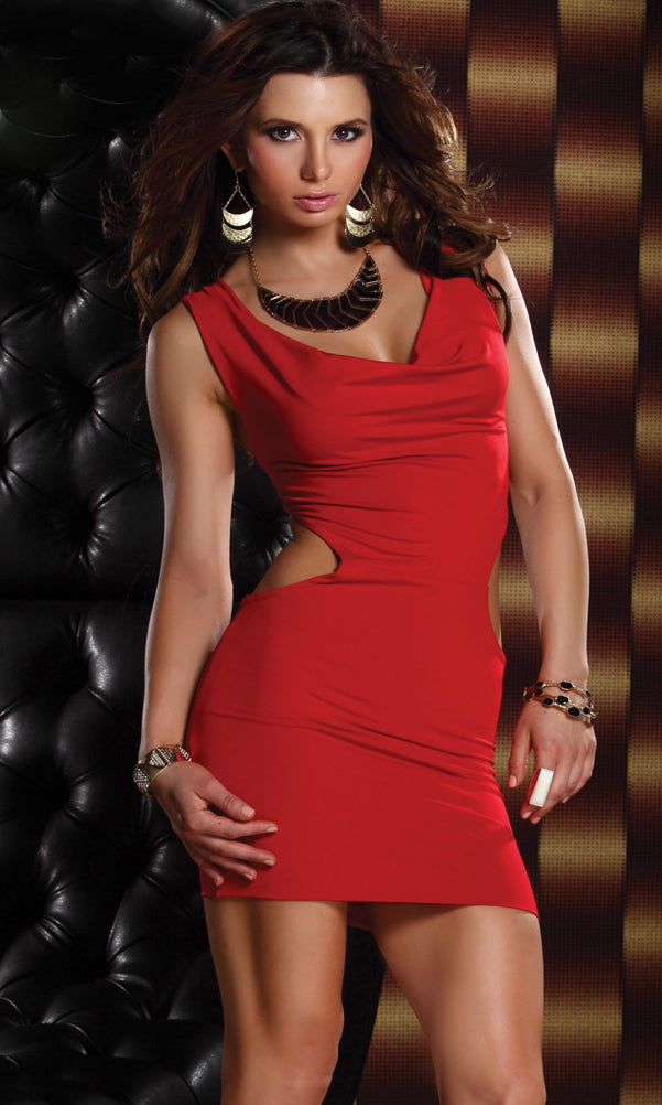 Exhilarate Short Dress Red Front FP882679