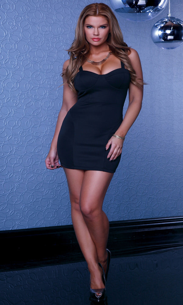 Kozani Mini Dress Black Full FP883748