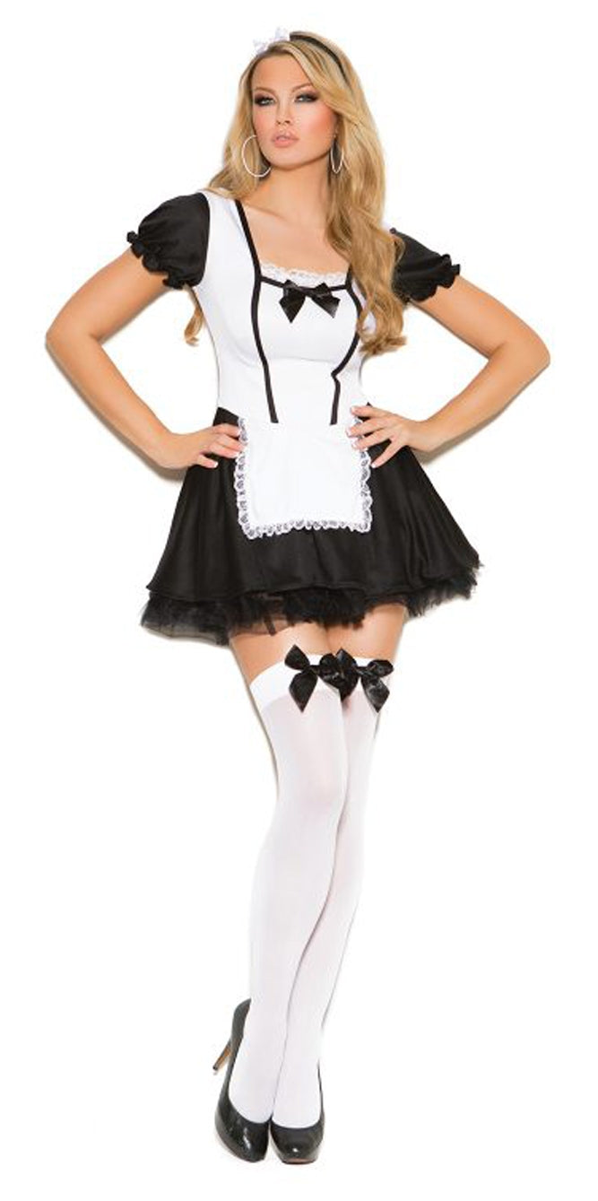 EM-9089 Two piece maid costume front