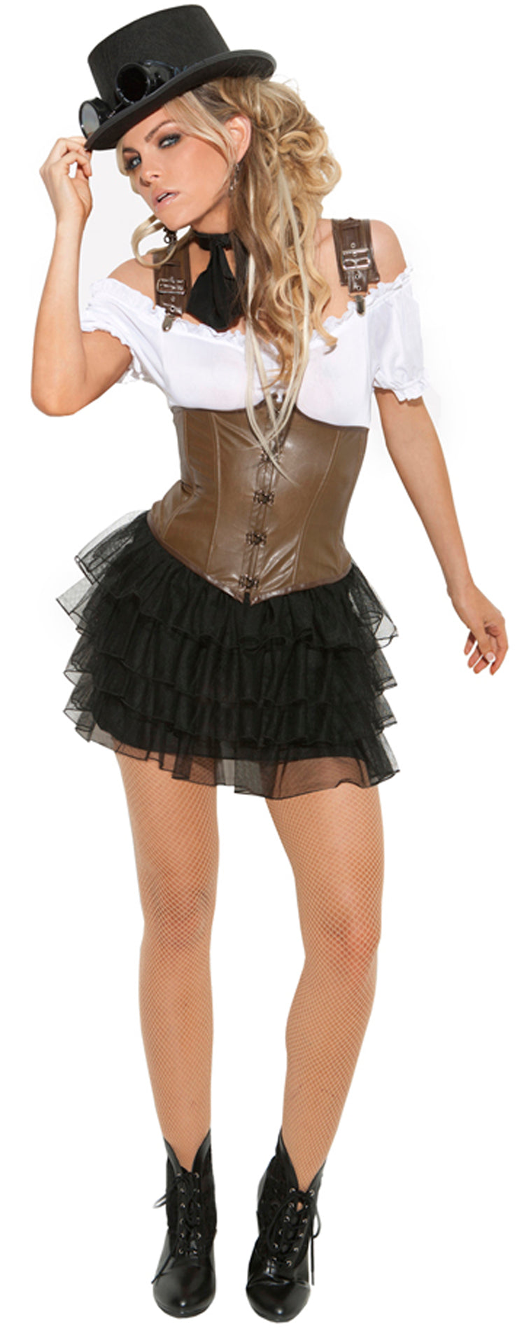 Racy Steampunk Rose As Shown EM9928