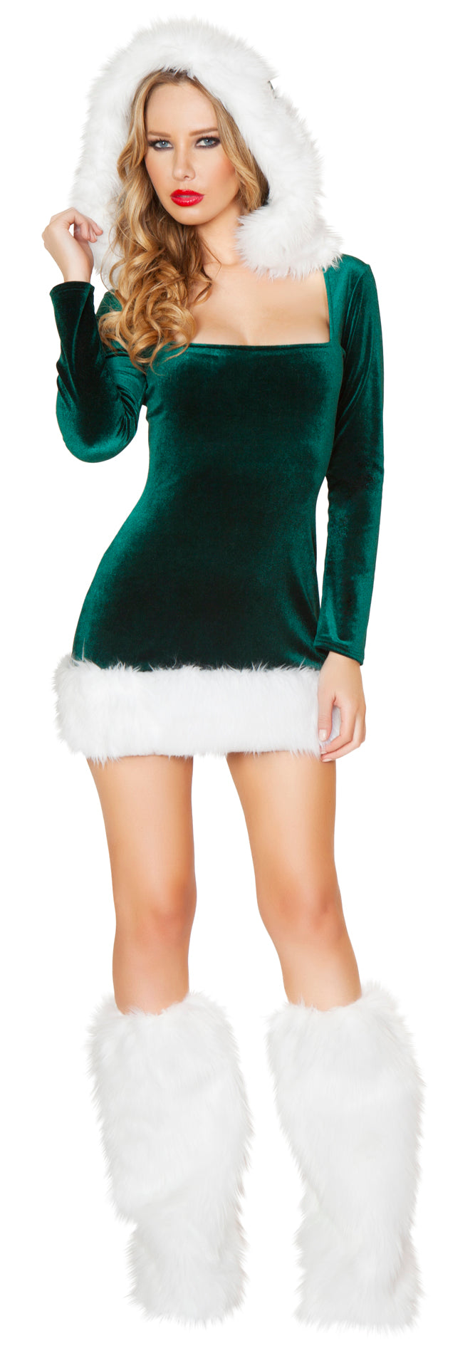 Elf Beauty Christmas Costume Front RMC174