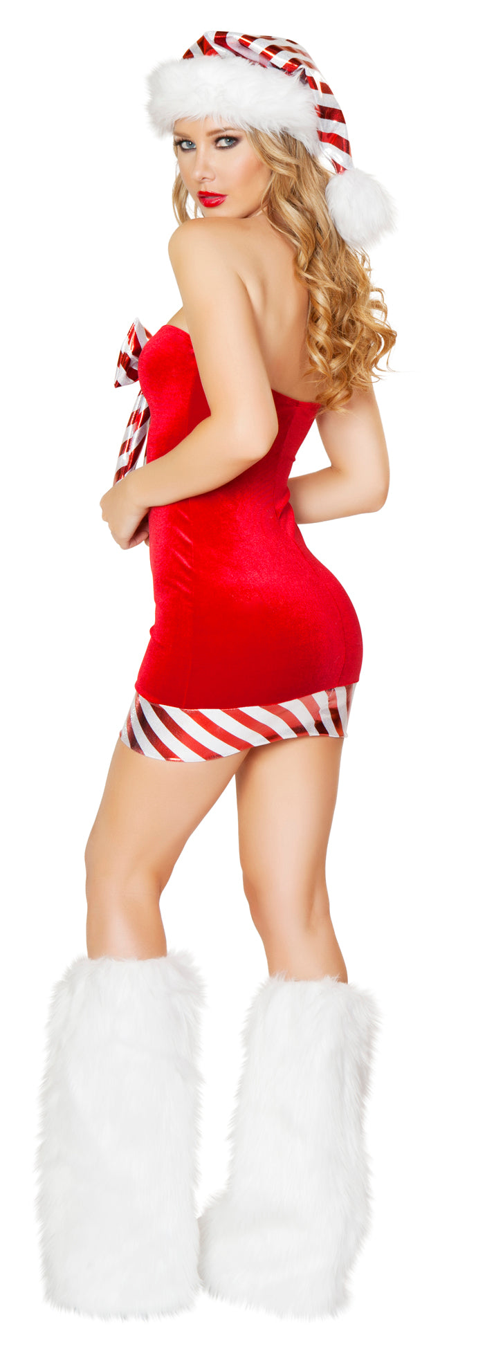 One Piece Santa's Candy Cane Red Back RMC176