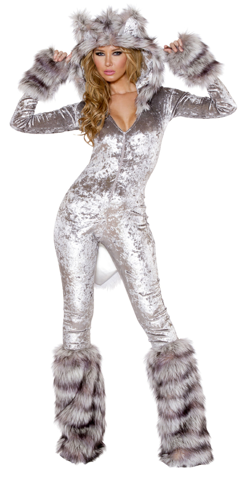 American Wherewolf Catsuit Costume JVCC213 Front