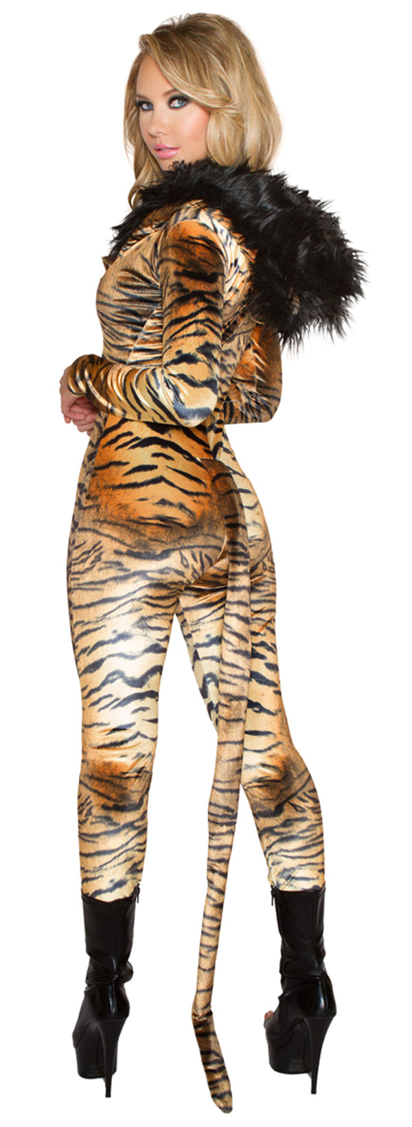 Tiger Catsuit Costume JVCC229 Back
