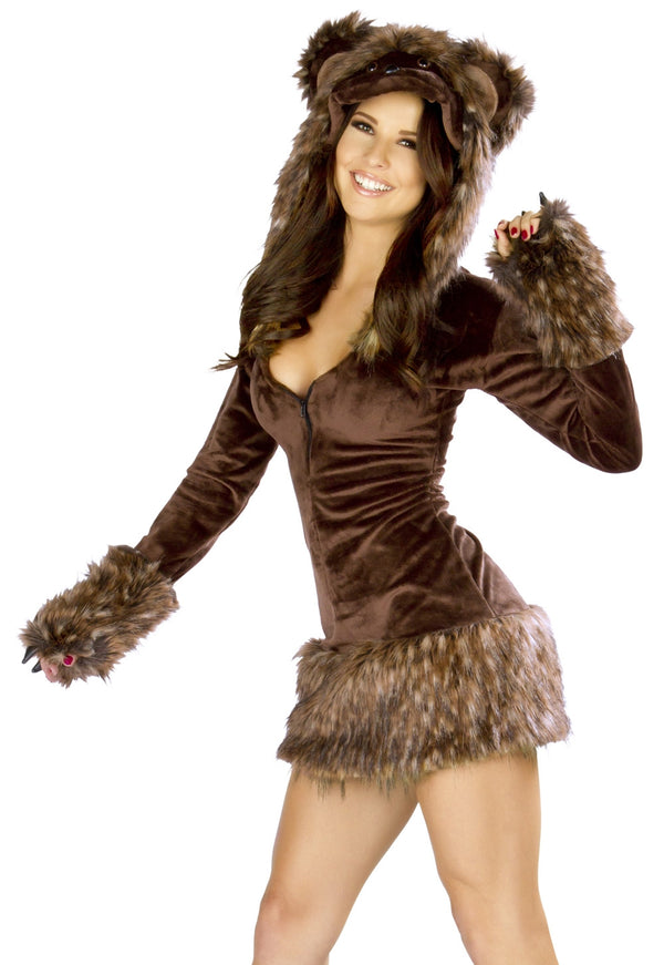 Teddy Bear Costume Dress JV-CS193 front