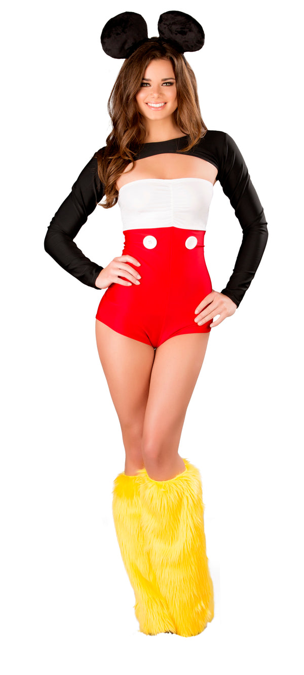 Nicky Mouse Costume Front JVCS262
