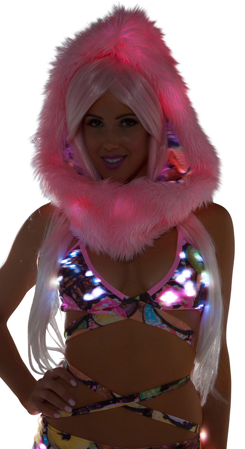 Doughnut Light Up Wrap Halter Top JV-FF466-DOUGH Main
