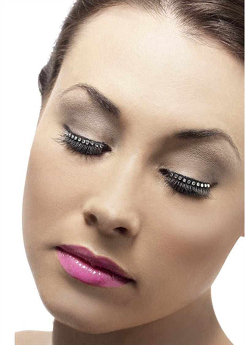 Diamante Eyelashes FV-21203-HON