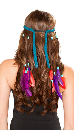 Turquoise Indian Headband RM-H4725