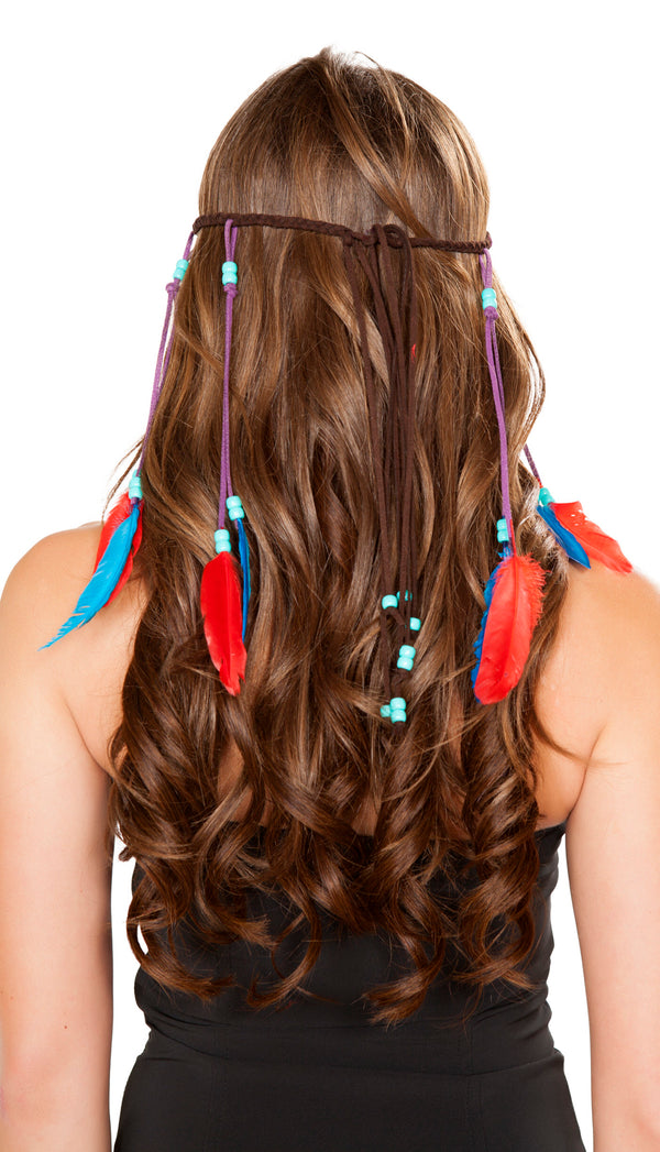 RM-H4726 Braided brown indian headband