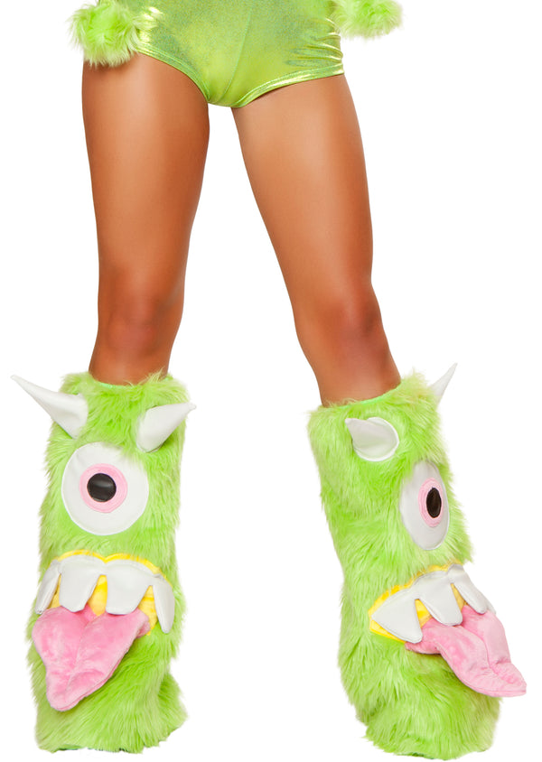One-Eyed Monster Legwarmers Front JVJJ176