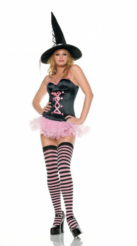 Pinky Witch Front LA83233