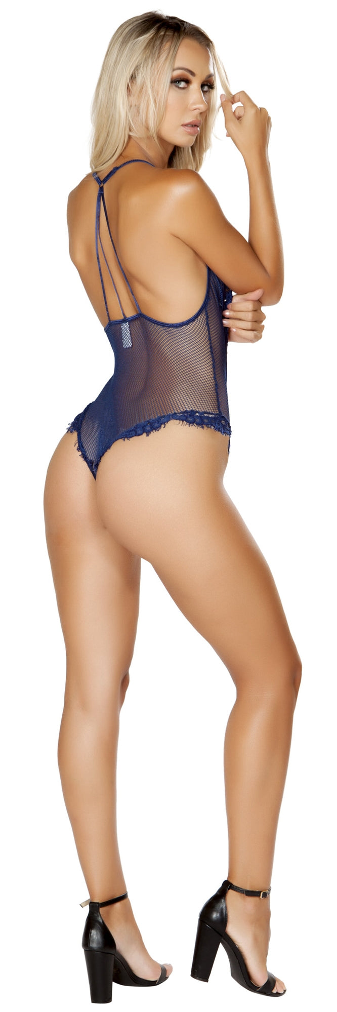 RMLI243 Sheer teddy blue back