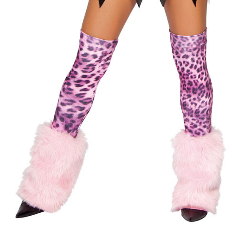 RMLW4182 Fur Leg Warmers/ Stockings