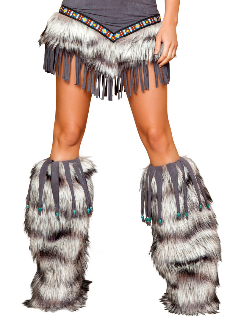 Native American Temptress Leg Warmer Front RMLW4427