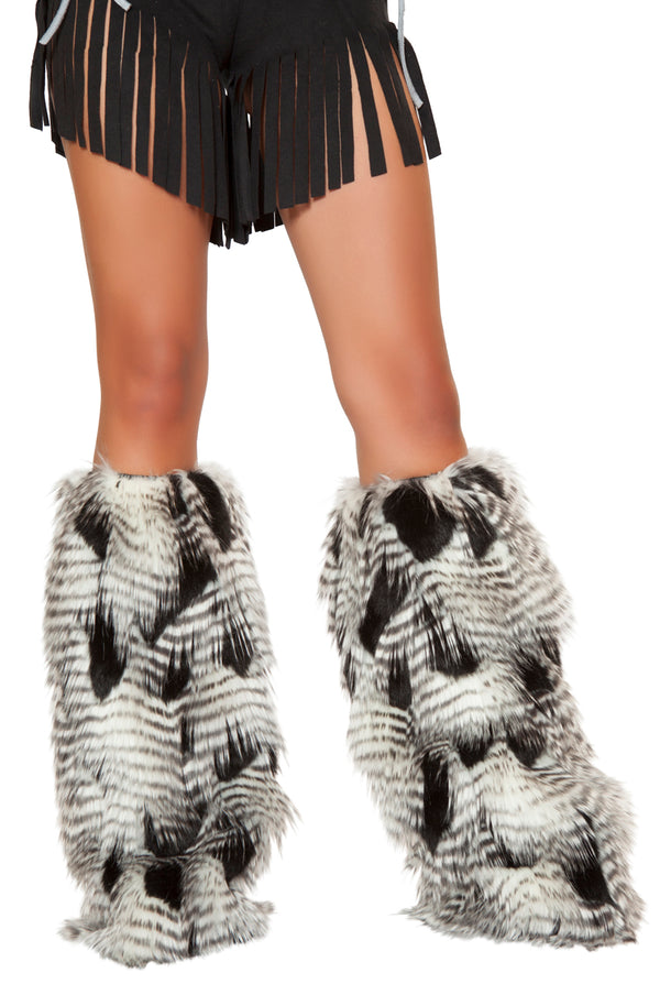 Native American Fur Legwarmers RMLW4469