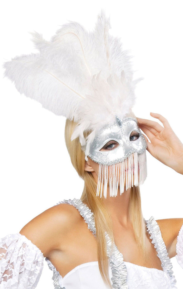 Beaded Masquerade Mask  RM-M4309