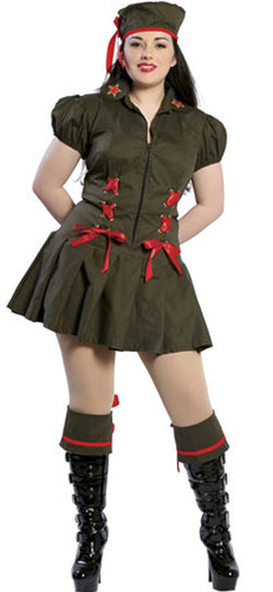 Naughty Soldier Costume RM4041