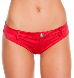 Assorted Colors Extreme Booty Shorts Red Front RMSH3226