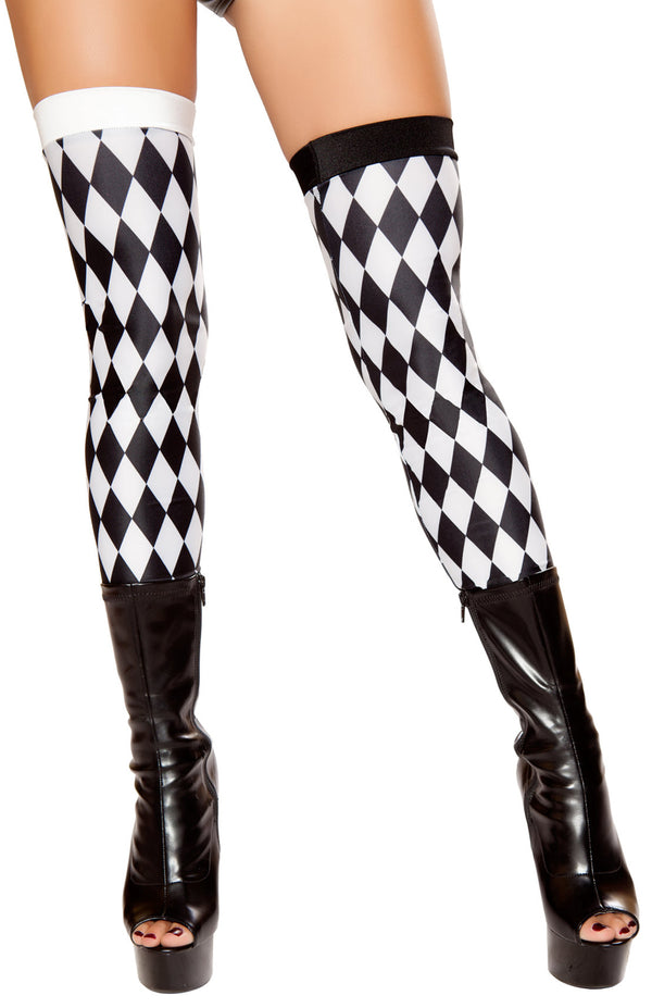 Checkered Jester Leggings RM-ST10044