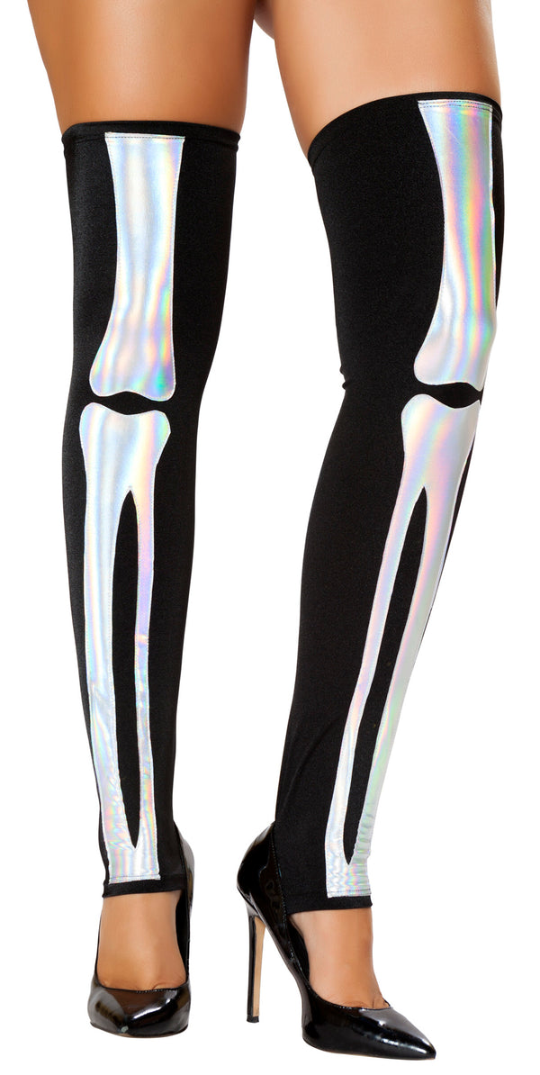 RM-ST4760 Skeleton black leggings