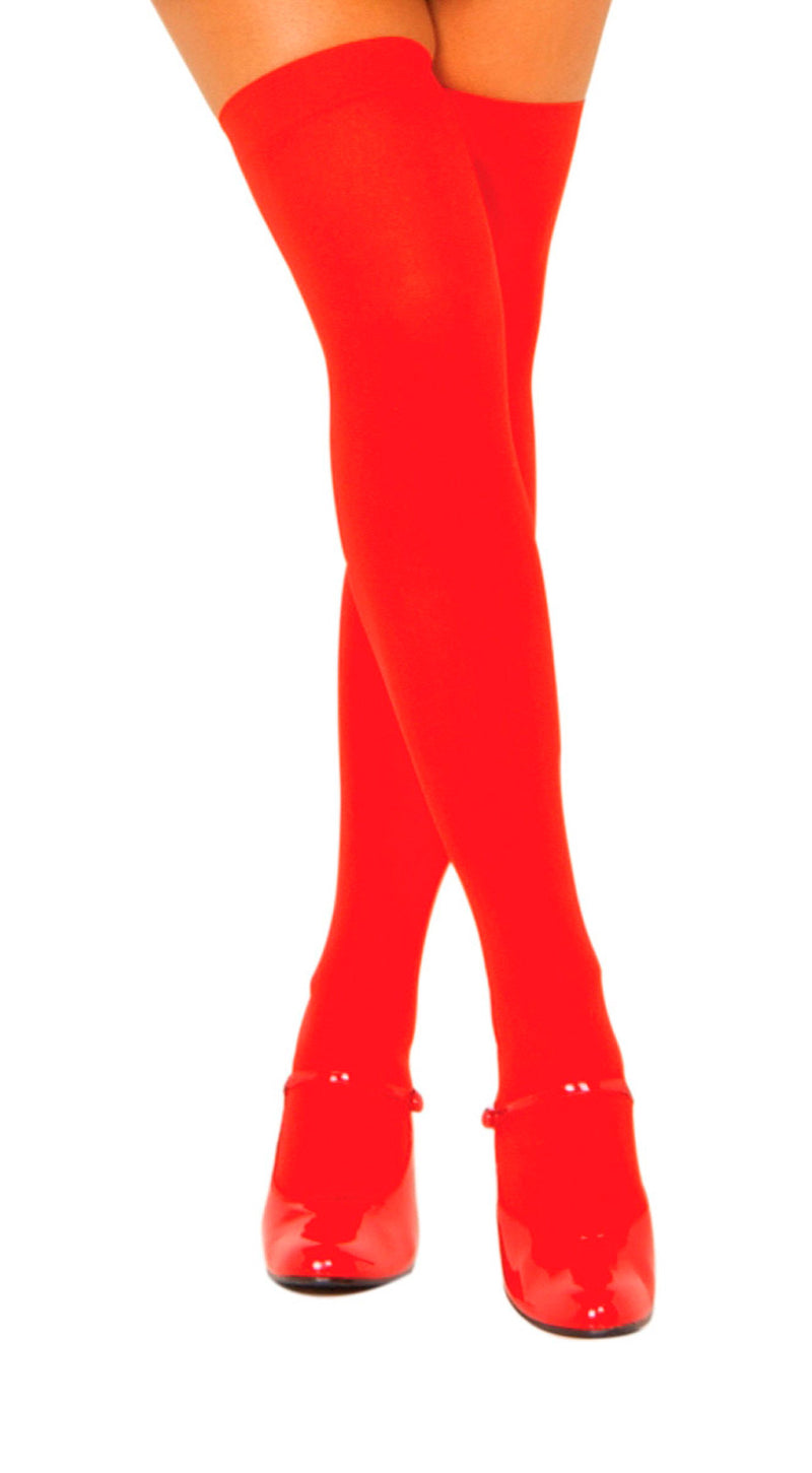 Thigh High Red STC201