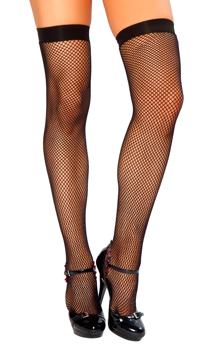 Thigh High Fishnet