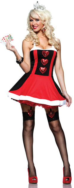 Queen Of Hearts Front STM10142