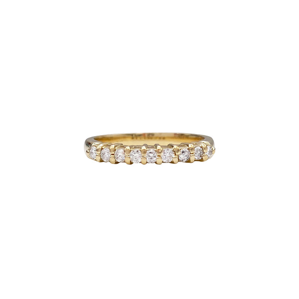 9 Stone Diamond Ring (4736398655539)
