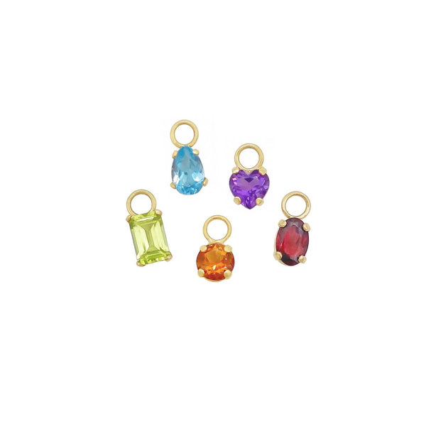 Gemstone Drop Charms (4426581016627)