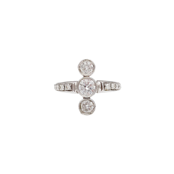 3 Stone Diamond Ring (4742939148339)