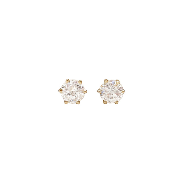 Diamond Stud Earrings (6550024192051)