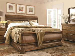 New Lou - Complete California King Bed w/Rails