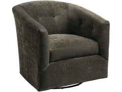 Burnish Swivel Glider