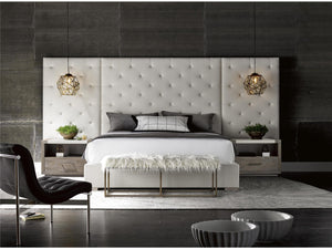 Modern - Complete Brando King Bed w-Panels