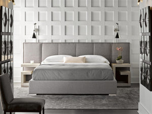 Modern - Complete Cal King Bed w-Panels