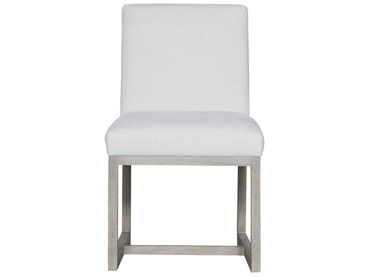 Modern - Carter Side Chair -Washed Belgian Linen