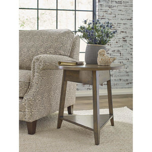 "Mill House 24"" Bowler Round End Table"