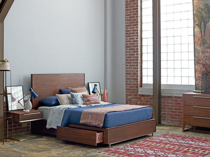 Spaces - Complete Tanner Storage Bed Queen